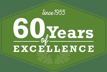60 Years Badge