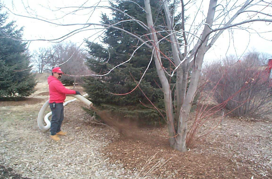 Hawthorn Woods, IL Mulch Installation